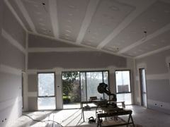 Gibstopping-ceiling